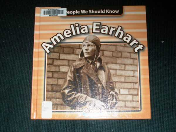 Image for Amelia Earhart (People We Should Know)