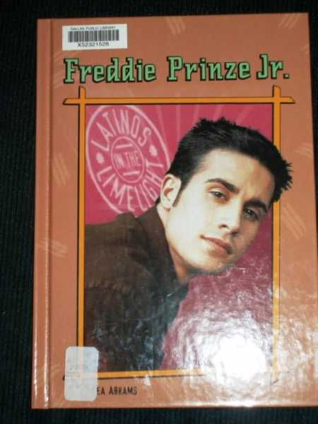 Image for Freddie Prinze, Jr. (Latinos in the Limelight)