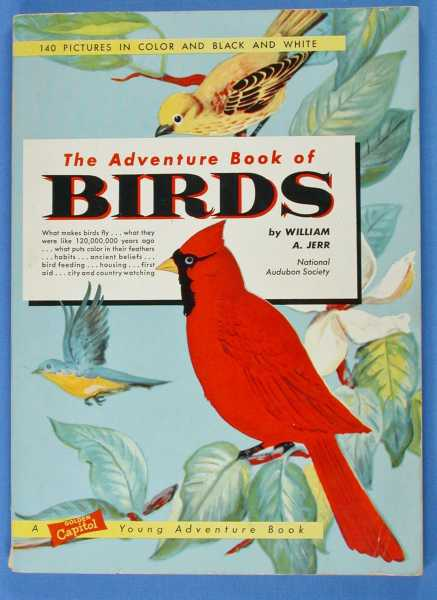 Image for The Adventure Book of Birds, National Audubon Society