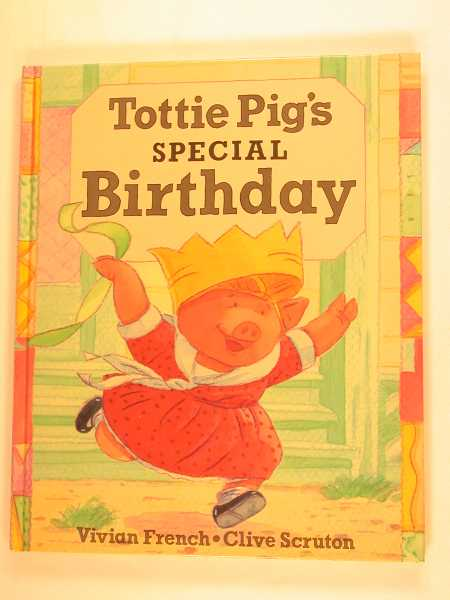 Image for Tottie Pig's Special Birthday