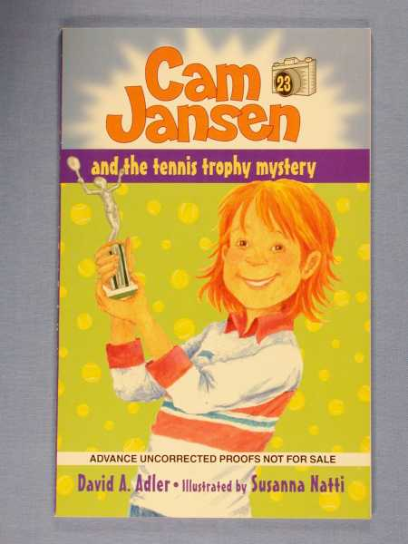 Image for Cam Jansen and the Tennis Trophy Mystery
