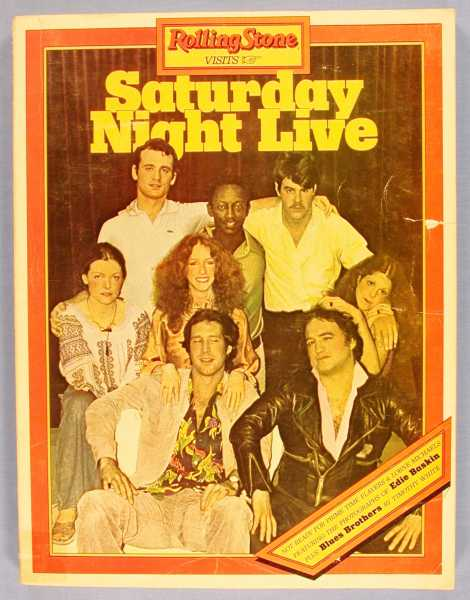 Image for Rolling Stone Visits Saturday Night Live