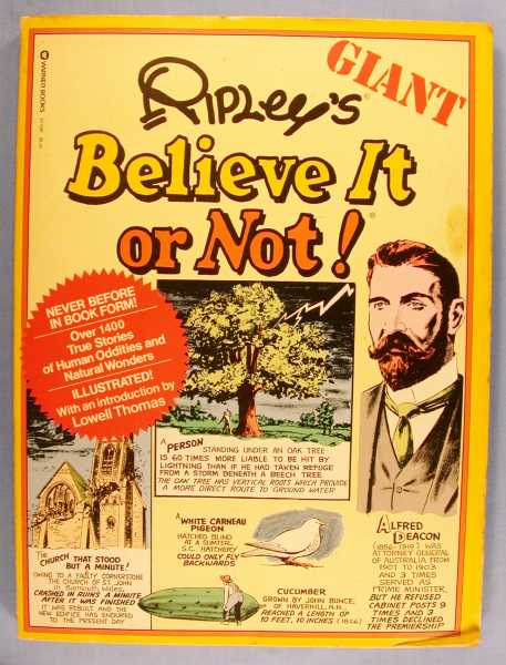 Image for Ripley's Giant Book of Believe It or Not