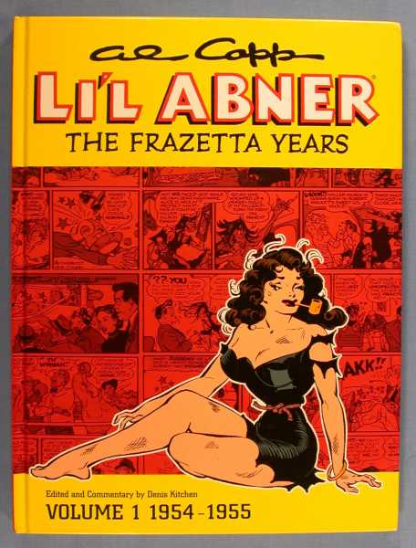 Image for Al Capp's Li'l Abner: The Frazetta Years, Volume 1 1954-55