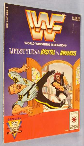Image for Lifestyles of the Brutal and Infamous (World Wrestling Federation)