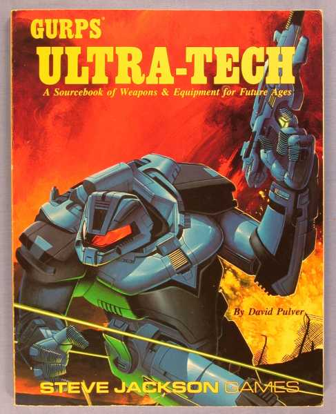 Image for GURPS Ultra-Tech: A Sourcebook of Weapons & Equipment for Future Ages
