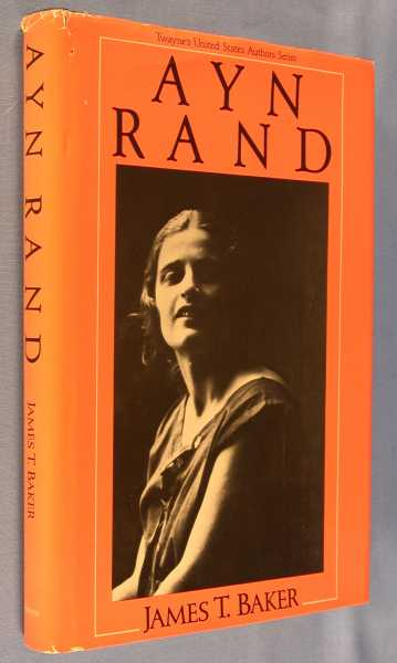 Image for Ayn Rand (Twayne's United States Authors Series)