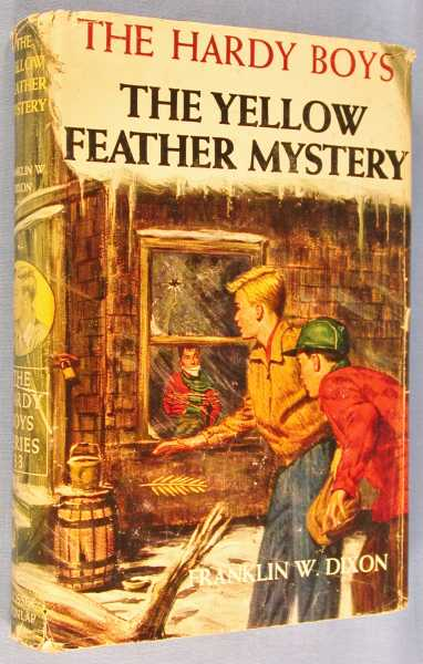 Image for The Yellow Feather Mystery  (The Hardy Boys #33)