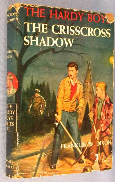 Image for The Crisscross Shadow  (The Hardy Boys #32)