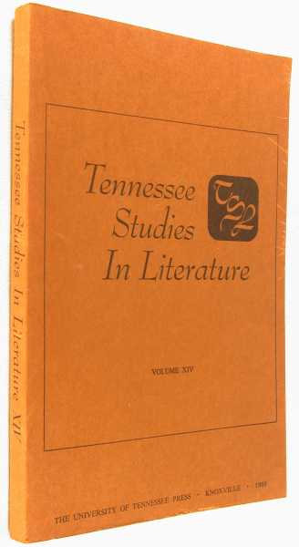 Image for Tennessee Studies in Literature, Volume XIV