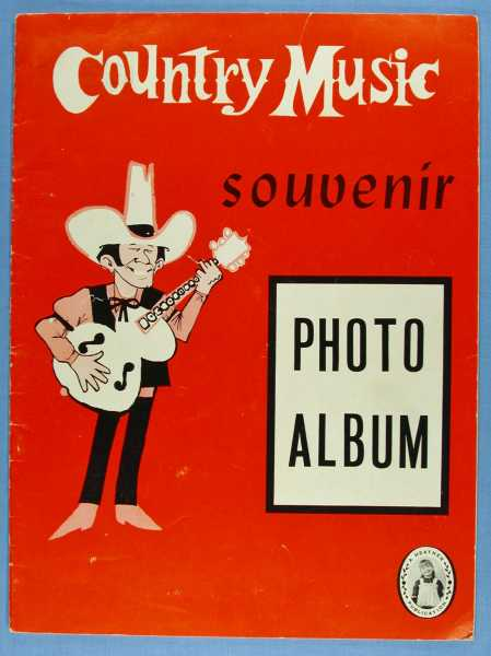 Image for Country Music Souvenir Photo Album