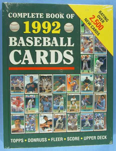 Image for The Complete Book of 1992 Baseball Cards