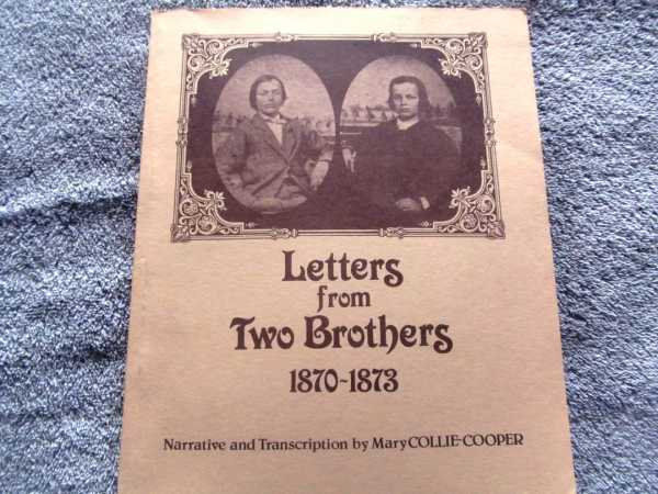 Image for Letters from Two Brothers 1870-1873