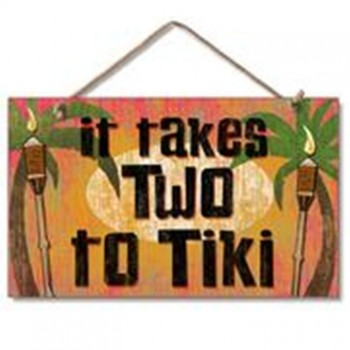Image for It Takes Two to Tiki Sign